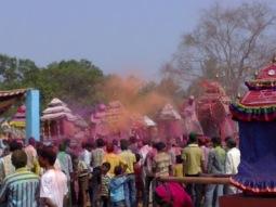Dola Milan / Bhagabat Milan at Tirimal Khurda Odisha : Its the Time to Return back to their respective village after last meeting.