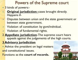 SC on Judiciary