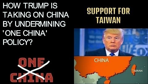 trum-on-one-china-policy